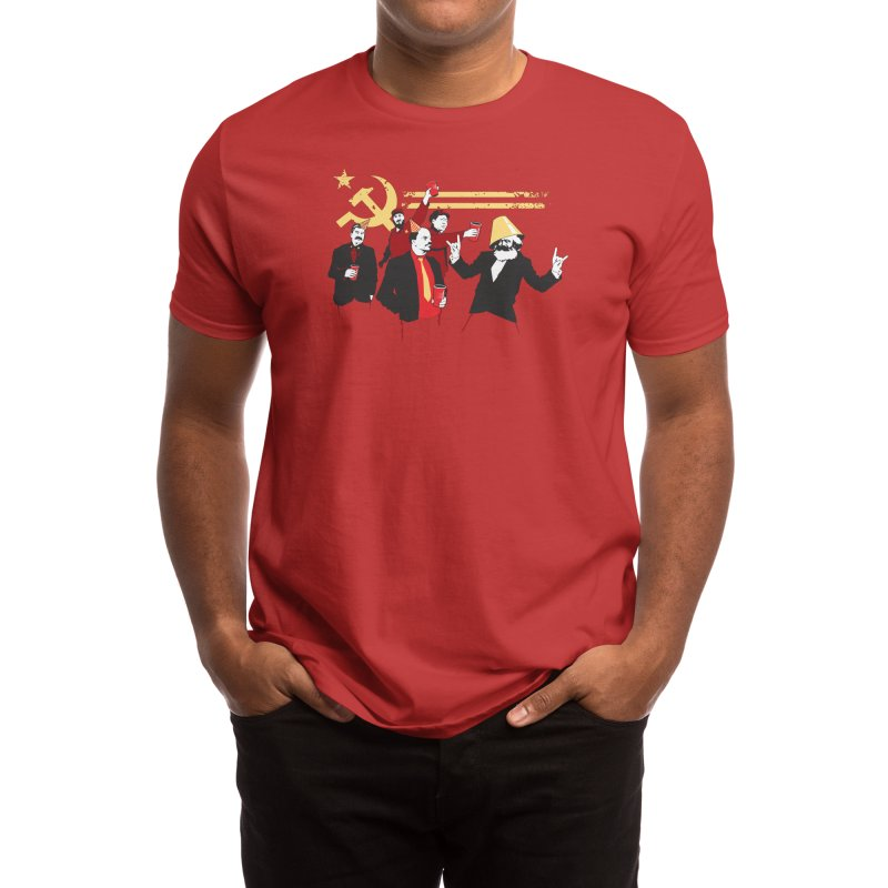 The Communist Party Men's T-Shirt by Threadless Artist Shop