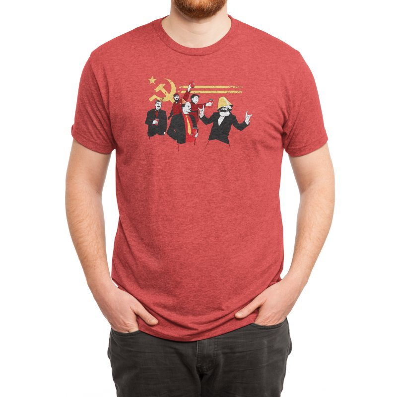 The Communist Party Men's T-Shirt by Threadless Artist Shop
