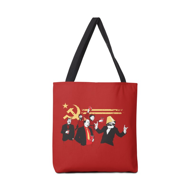 The Communist Party Accessories Bag by Threadless Artist Shop