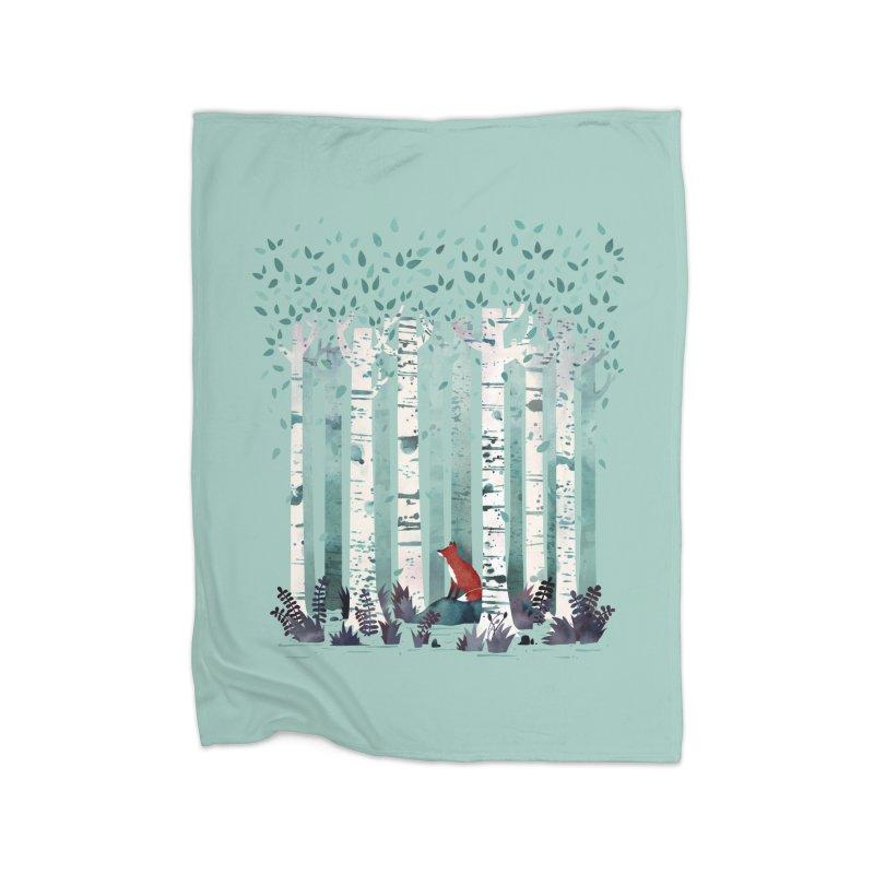 The Birches Home Blanket by Threadless Artist Shop
