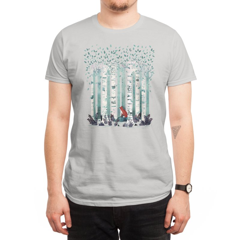 The Birches Men's T-Shirt by Threadless Artist Shop