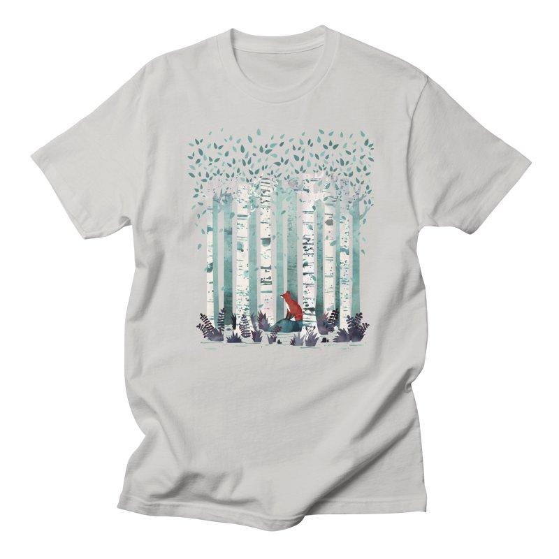 The Birches Women's T-Shirt by Threadless Artist Shop
