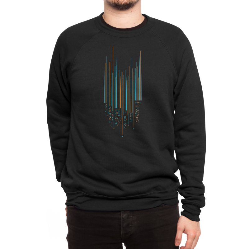 Urban Oscillations Men's Sweatshirt by Threadless Artist Shop