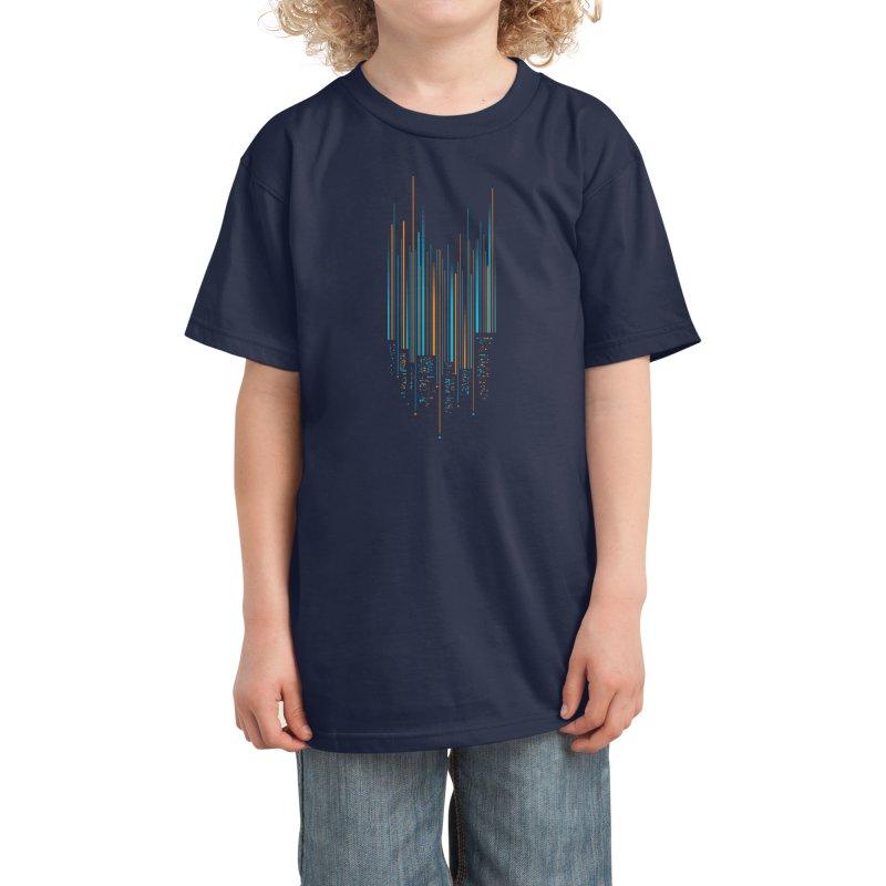 Urban Oscillations Kids T-Shirt by Threadless Artist Shop