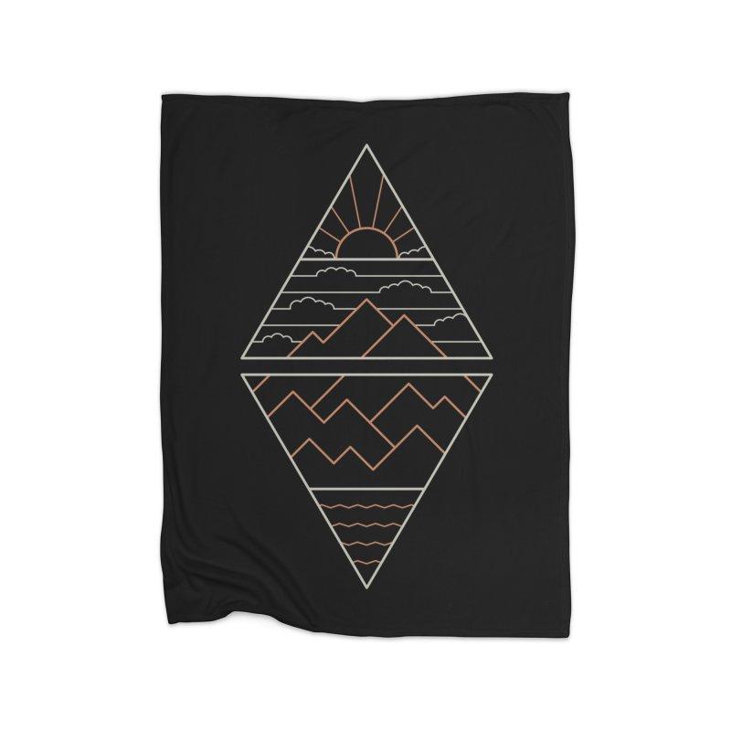 Earth, Air, Fire & Water Home Blanket by Threadless Artist Shop