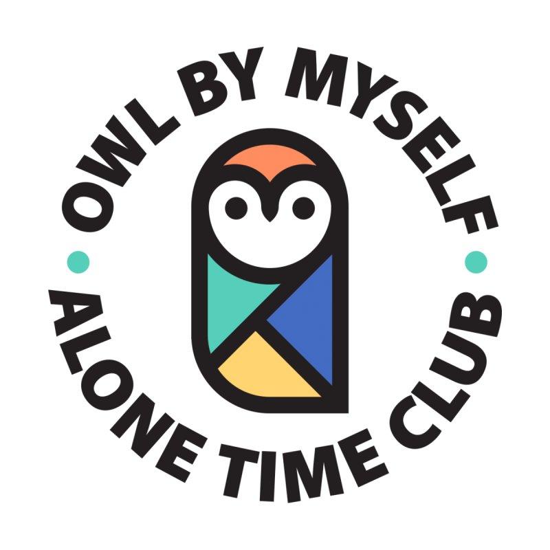 Owl By Myself Men's T-Shirt by Threadless Artist Shop