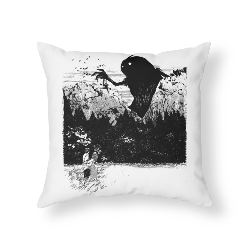 Perfect Timing Home Throw Pillow by Threadless Artist Shop