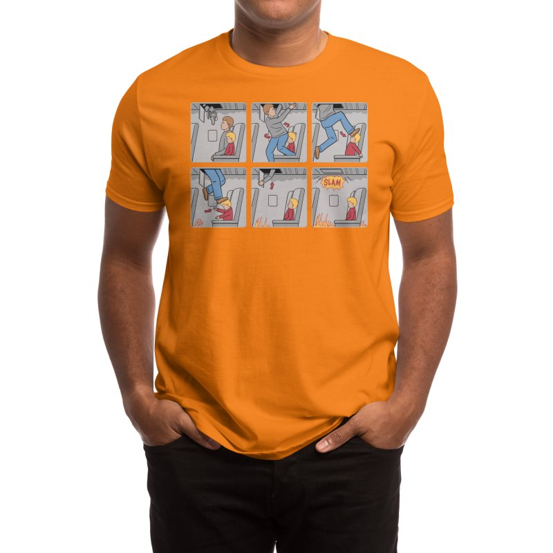 Safety First - Ian Byers Men's T-Shirt by Threadless Artist Shop