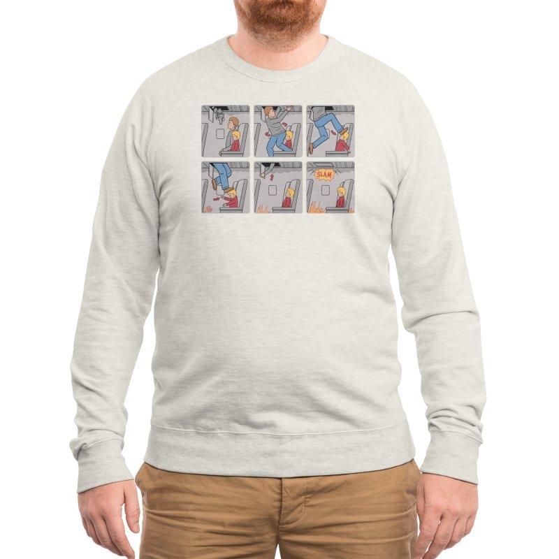 Safety First - Ian Byers Men's Sweatshirt by Threadless Artist Shop