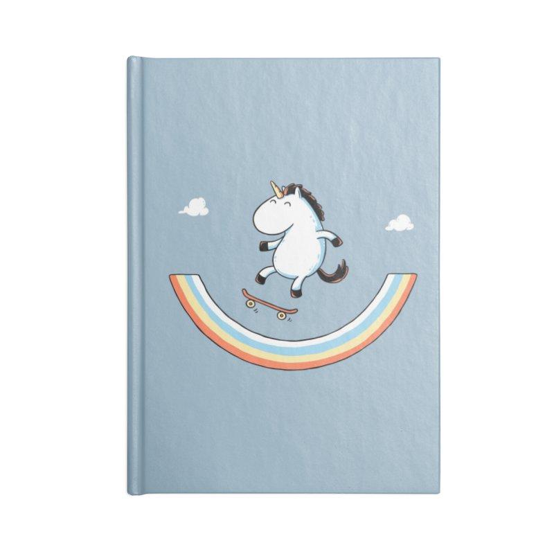 Rainbow Skate Accessories Notebook by Threadless Artist Shop
