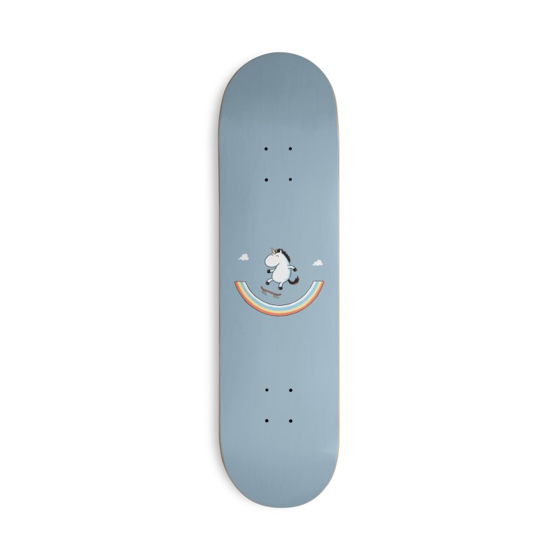 Rainbow Skate Accessories Skateboard by Threadless Artist Shop
