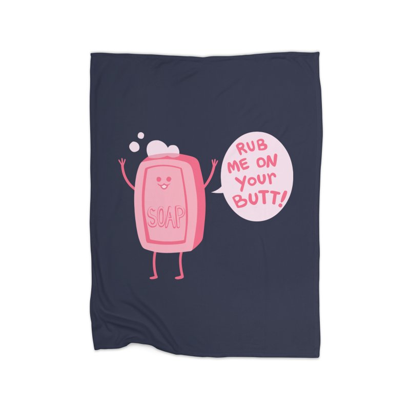 Lil' Soap Home Blanket by Threadless Artist Shop