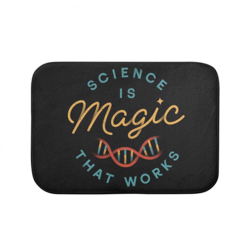 Science is Magic Home Bath Mat by Threadless Artist Shop