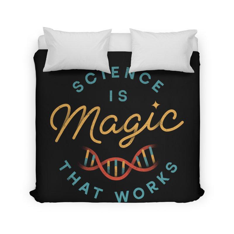 Science is Magic Home Duvet by Threadless Artist Shop