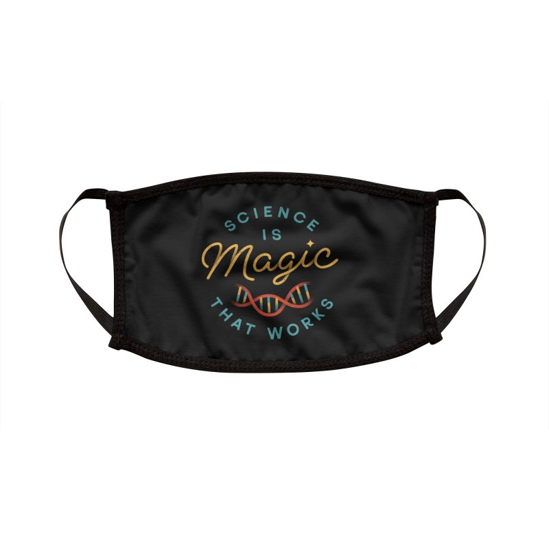 Science is Magic Accessories Face Mask by Threadless Artist Shop