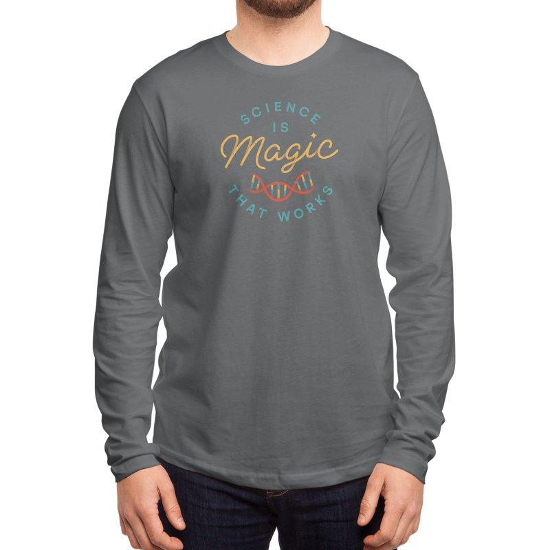 Science is Magic Men's Longsleeve T-Shirt by Threadless Artist Shop