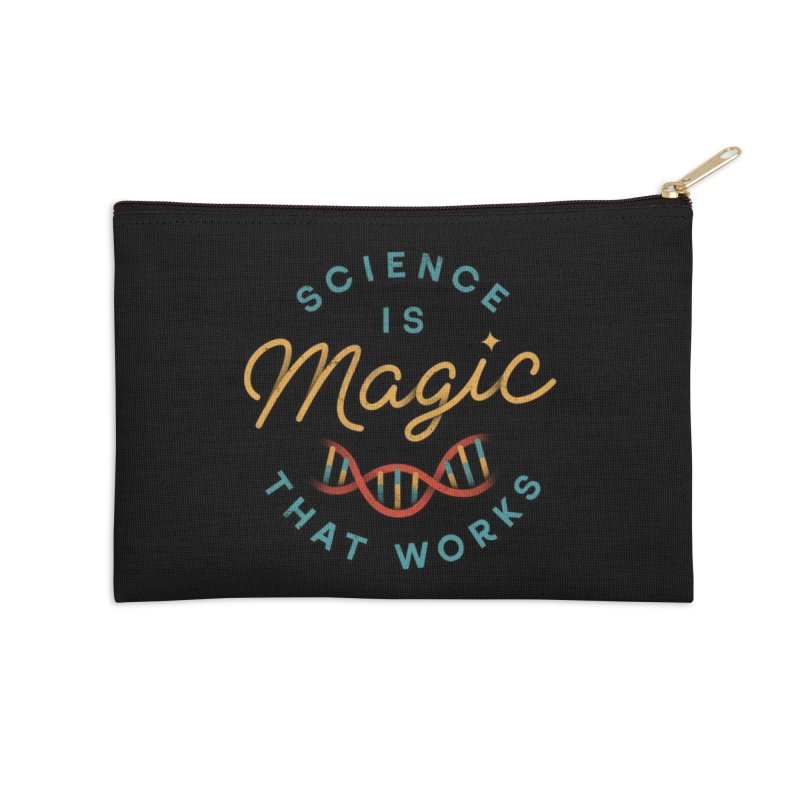 Science is Magic Accessories Zip Pouch by Threadless Artist Shop