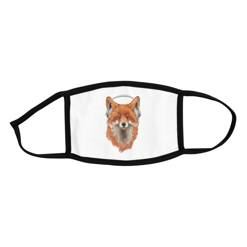 The Musical Fox Accessories Face Mask by Threadless Artist Shop