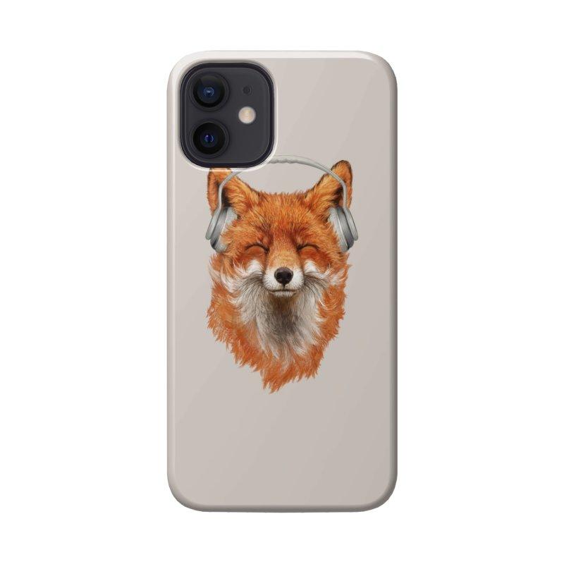 The Musical Fox Accessories Phone Case by Threadless Artist Shop