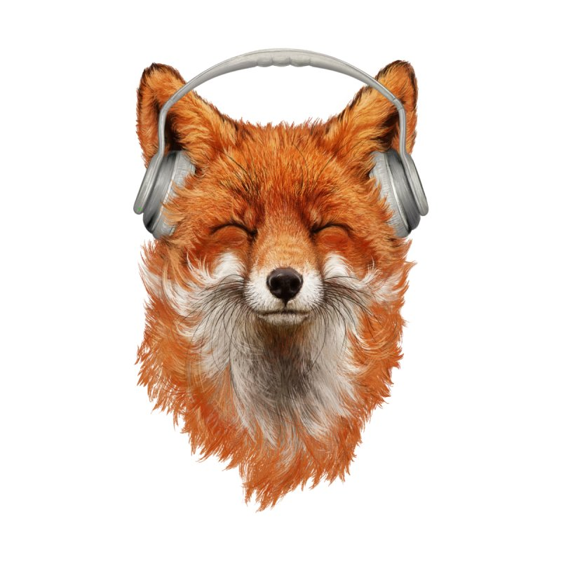 The Musical Fox Home Tapestry by Threadless Artist Shop