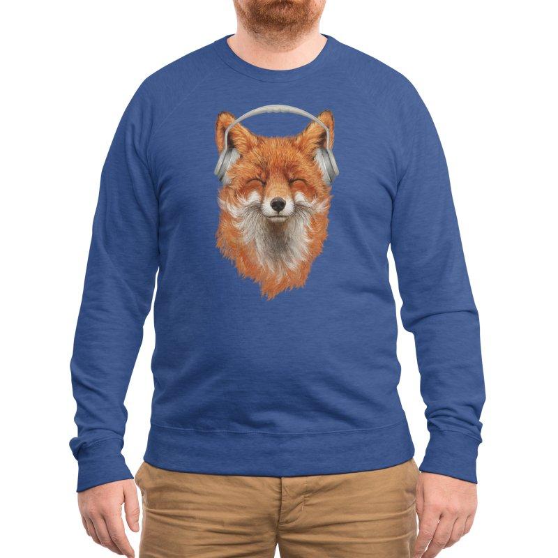 The Musical Fox Men's Sweatshirt by Threadless Artist Shop