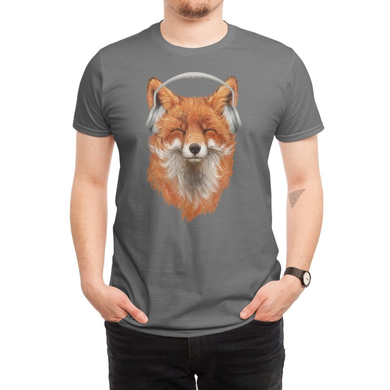 The Musical Fox Men's T-Shirt by Threadless Artist Shop