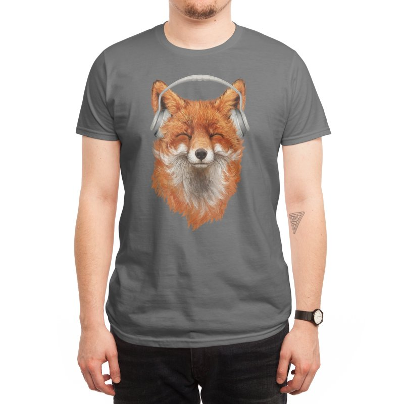 The Musical Fox Men's T-Shirt by Threadless Artist Shop
