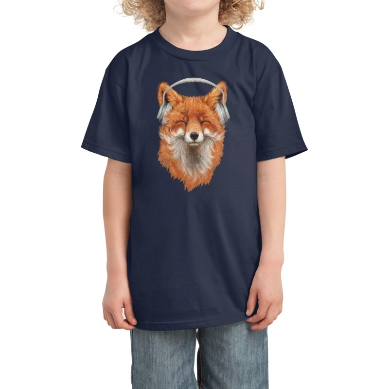 The Musical Fox Kids T-Shirt by Threadless Artist Shop