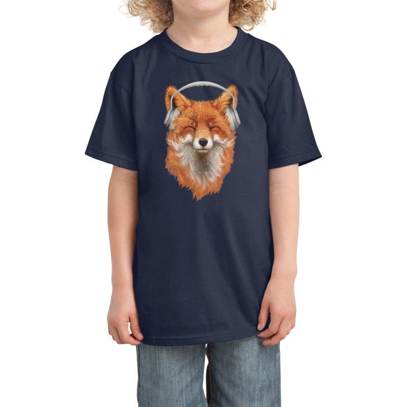 The Musical Fox Kids T-Shirt by Threadless Artist Shop