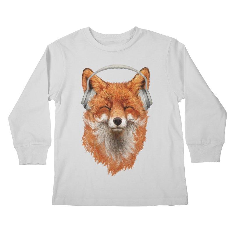 The Musical Fox Kids Longsleeve T-Shirt by Threadless Artist Shop