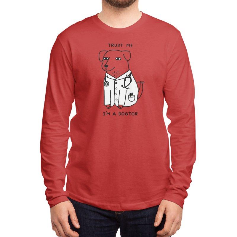 Dogtor Men's Longsleeve T-Shirt by Threadless Artist Shop