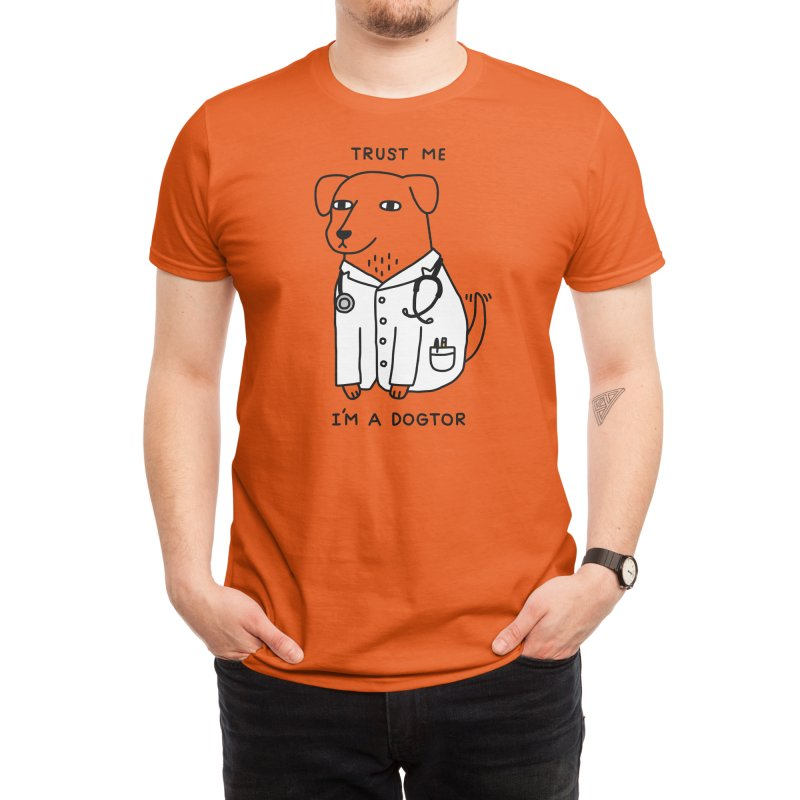 Dogtor Men's T-Shirt by Threadless Artist Shop