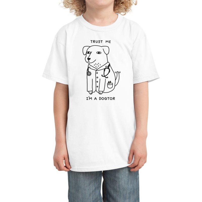 Dogtor Kids T-Shirt by Threadless Artist Shop