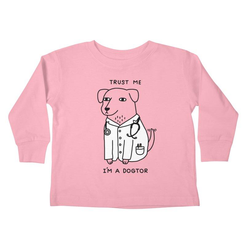 Dogtor Kids Toddler Longsleeve T-Shirt by Threadless Artist Shop