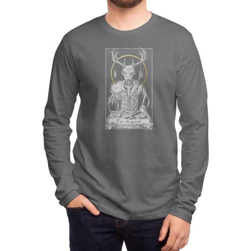 The Magician Men's Longsleeve T-Shirt by Threadless Artist Shop