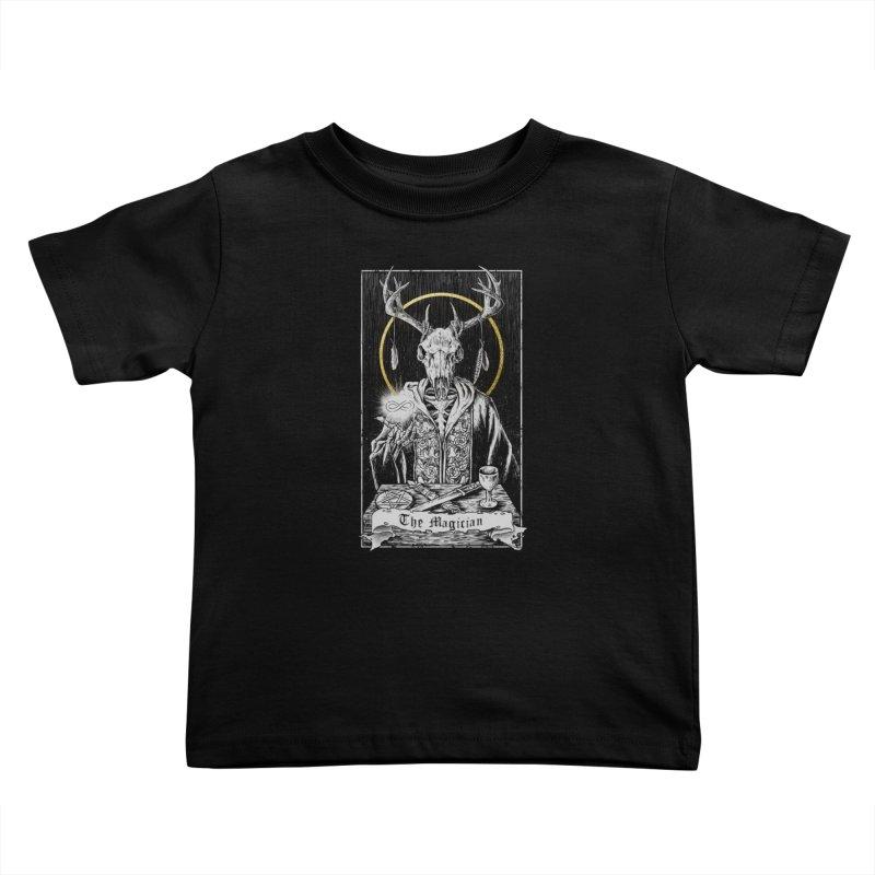 The Magician Kids Toddler T-Shirt by Threadless Artist Shop