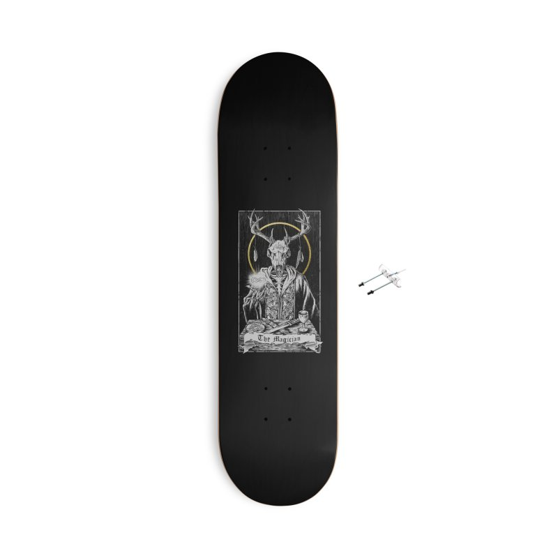 The Magician Accessories Skateboard by Threadless Artist Shop
