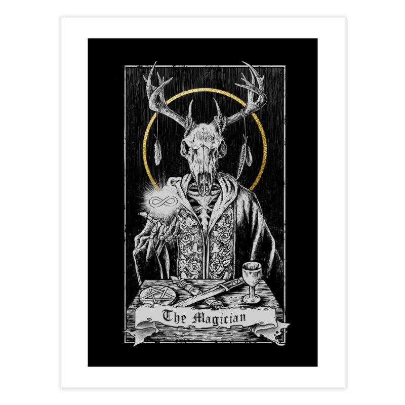 The Magician Home Fine Art Print by Threadless Artist Shop