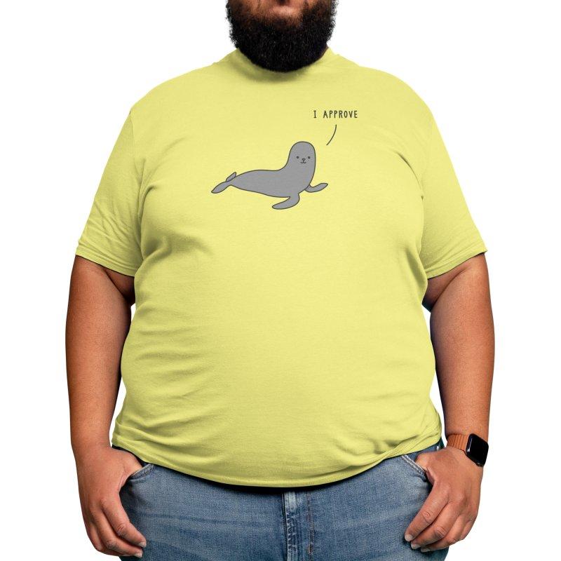 Seal of Approval - Jaco Haasbroek Men's T-Shirt by Threadless Artist Shop