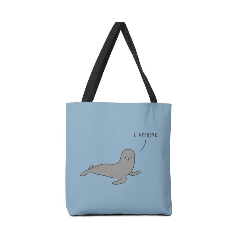 Seal of Approval - Jaco Haasbroek Accessories Bag by Threadless Artist Shop