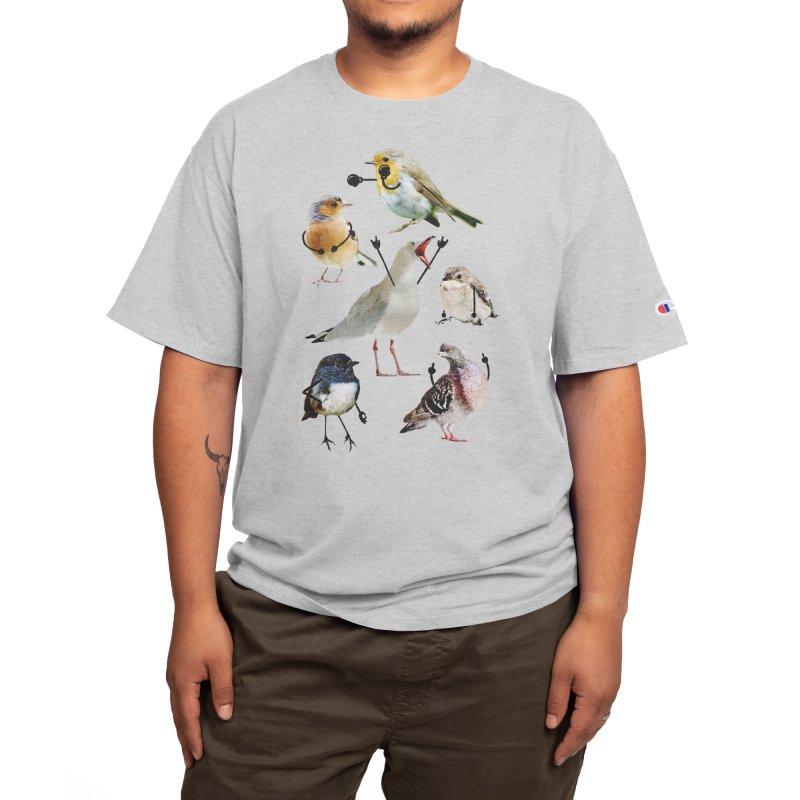 Birds with Arms Men's T-Shirt by Threadless Artist Shop