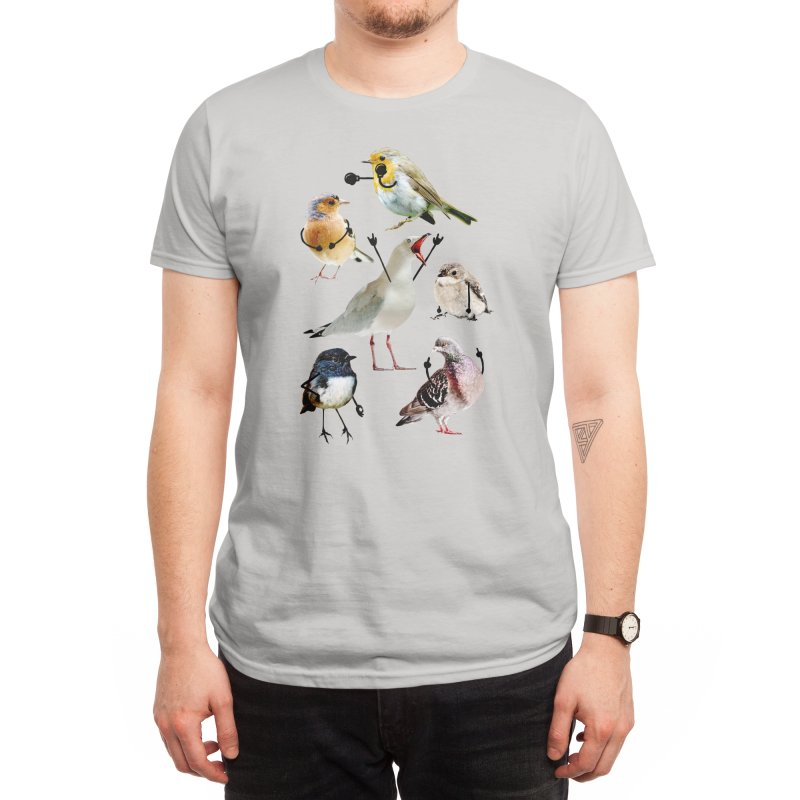 Birds with Arms Men's T-Shirt by Threadless Artist Shop