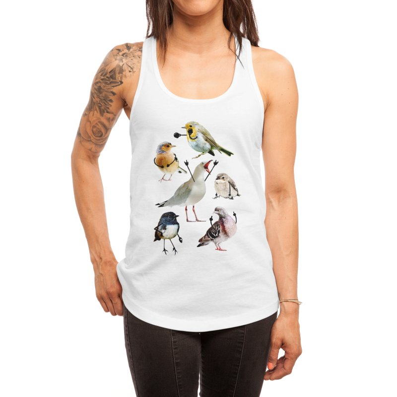 Birds with Arms Women's Tank by Threadless Artist Shop