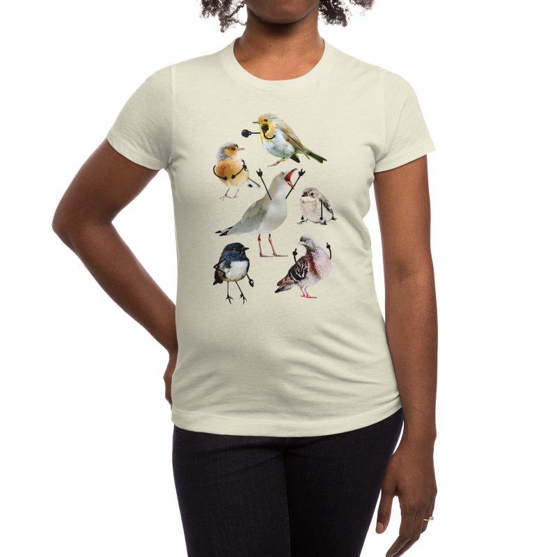 Birds with Arms Women's T-Shirt by Threadless Artist Shop