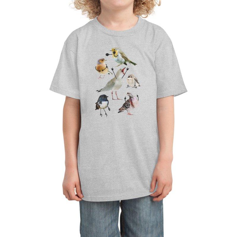 Birds with Arms Kids T-Shirt by Threadless Artist Shop