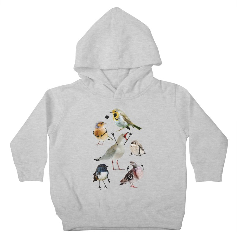 Birds with Arms Kids Toddler Pullover Hoody by Threadless Artist Shop