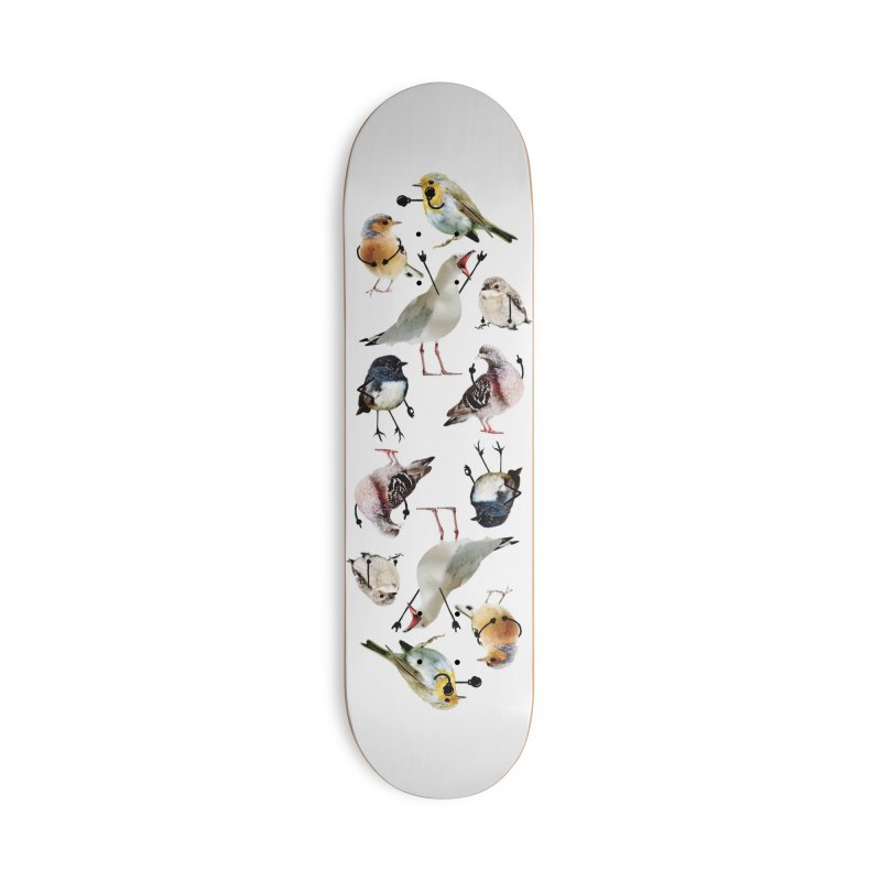 Birds with Arms Accessories Skateboard by Threadless Artist Shop