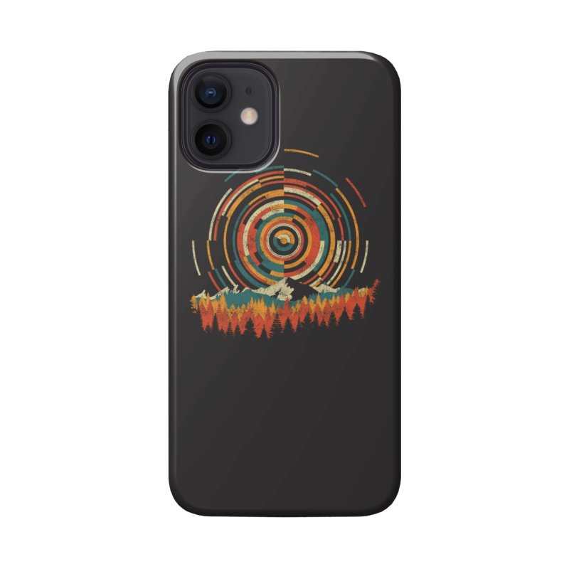 The Geometry of Sunrise Accessories Phone Case by Threadless Artist Shop