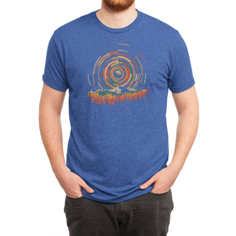 The Geometry of Sunrise Men's T-Shirt by Threadless Artist Shop