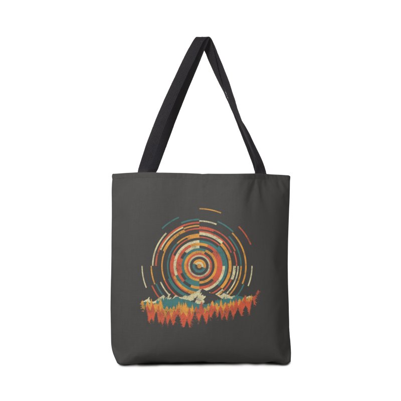 The Geometry of Sunrise Accessories Bag by Threadless Artist Shop